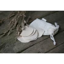 Korduvkasutatavad näopuhastuspadjad pesukotiga