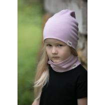 Laste meriino müts, Roosa